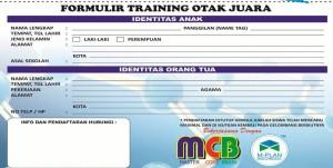 Formulir MCB Sumatera Cerdas