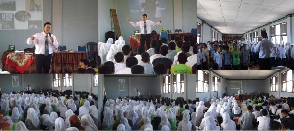 Trainer & Motivasi diSMPN2 Padang.